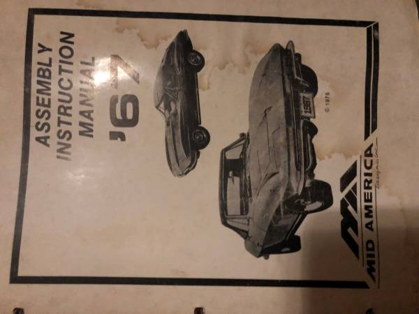 Photo Mid America Corvette 1960-71 Assembly Manuals - $100 (West Chicago)