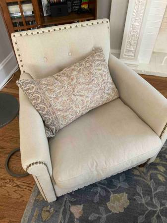 Photo Pottery Barn Armchairs - $350 (Evanston)