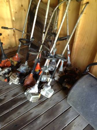 Photo Stihl an Echo weed eater parts - $10 (Streator, IL)