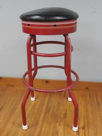 Photo Vintage Metal Kitchen Bar Stool - $50 (Utica)
