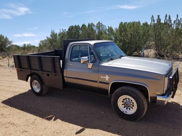 Photo 1987 chevy c 20 truck - $12,500 (silver city nm)