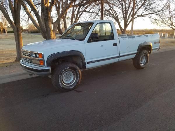 Photo 1989 Chevy K2500 Scottsdale 4x4 - $3,200 (Las Cruces)