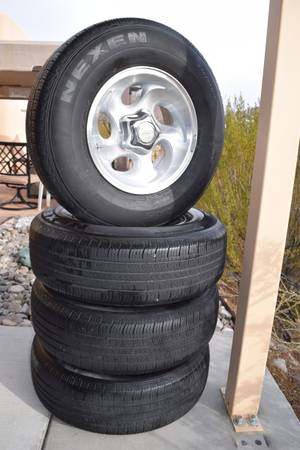 Photo 1995-2001 Ford Ranger Wheels  Tires - $300 (Las Cruces)