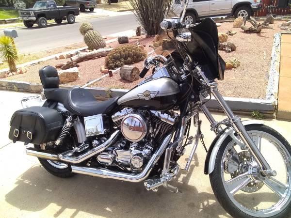 Photo 2003 Harley Davidson 100th Anniversary Wideglide - $6,500 (Las Cruces)
