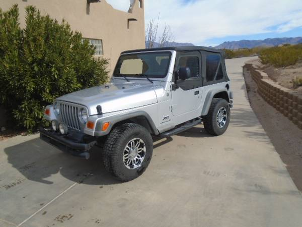 Photo 2004 JEEP WRANGLER TJ - $12,500 (Las Cruces)