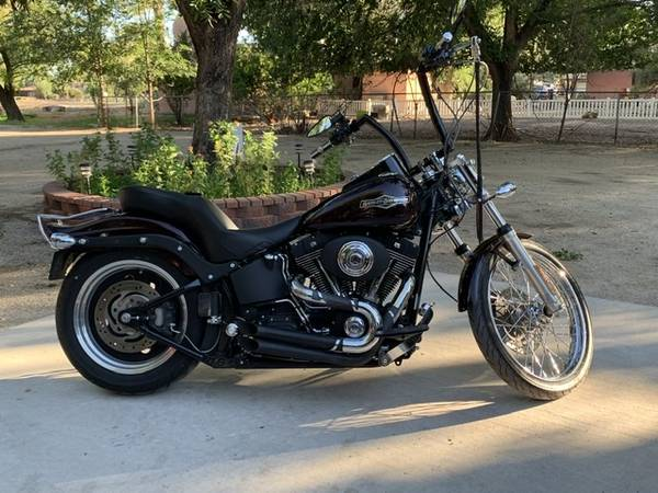 Photo 2006 Harley Davidson Soft tail Night Train FXSTB - $11,000 (Las Cruces, NM)