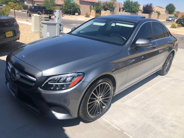 Photo 2019 Mercedes Benz C300 like new - $36,200 (Las Cruces)