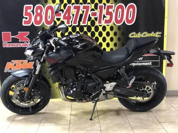 Photo 2020 Kawasaki Z650 ABS Metallic BlackMetallic Flat Spark Black - $7,199 (Altus)