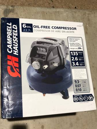 Photo 6 Gallon Oil Free Portable Pancake Air Compressor - $75 (Las cruces)