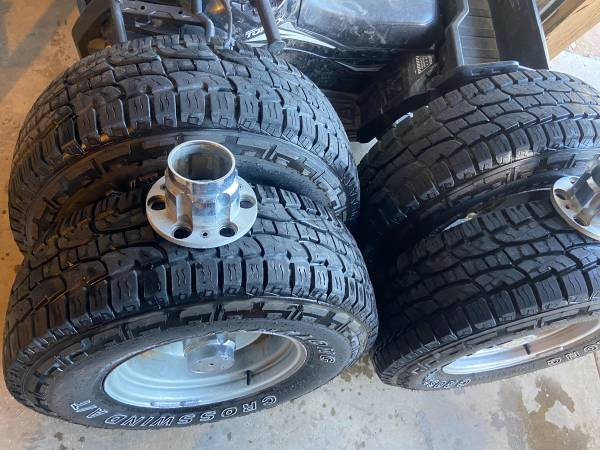 Photo Chevy Rally wheels - $650 (Las Cruces)