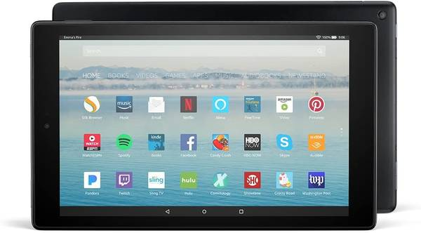 Photo Fire HD 10 Tablet -Alexa Hands-Free, 10.1quot 1080p Full HD with cover - $59 (Albuquerque)