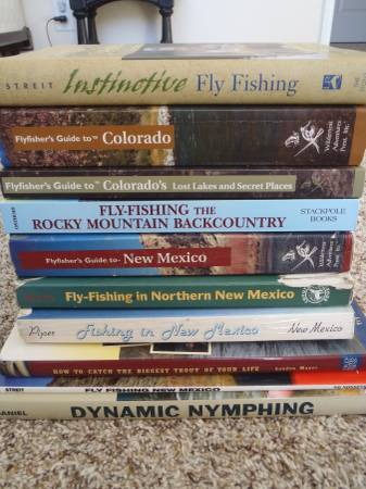 Photo Fly Fishing Library - Books and Guides - $65 (ABQ - NE Heights)