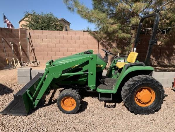 Photo John Deere 4200 Tractor with Box Scraper (Call Us About Our Lay-A-Way Program Today)