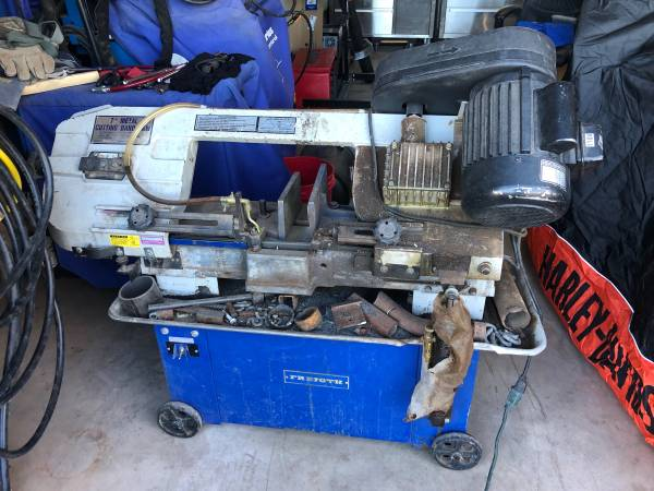 Photo Metal cutting band saw for trade (Tularosa)