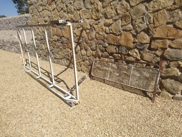 Photo Truck Rack from Old Chevy Truck - $50 (Las Cruces)