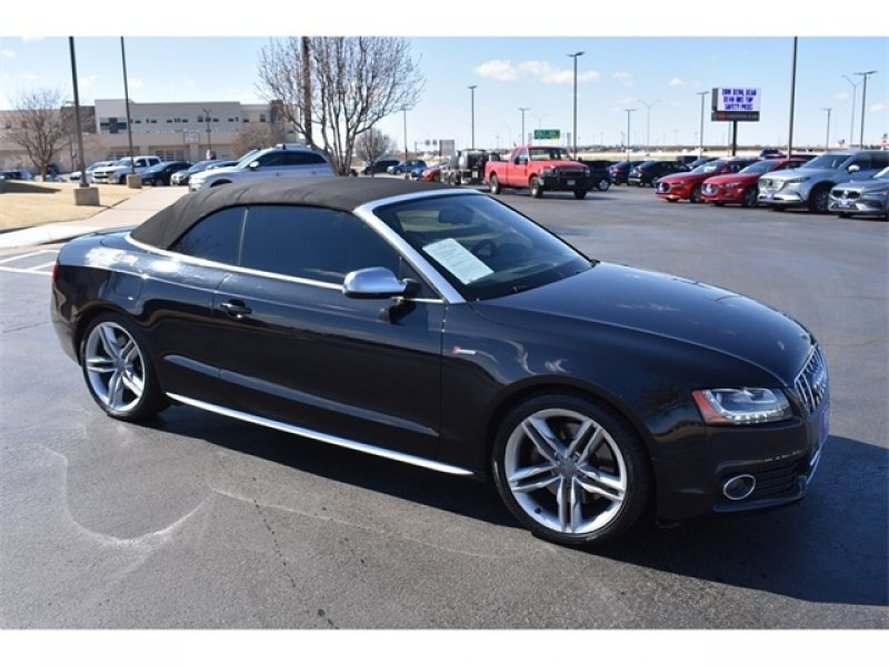 Photo Used 2012 Audi S5 3.0T Prestige Cabriolet for sale