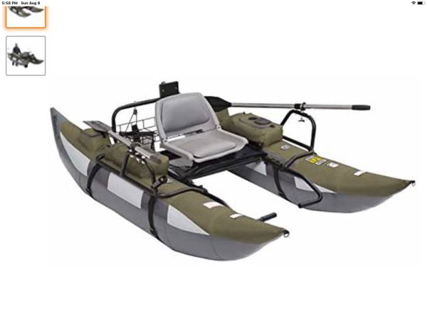 Photo Wilderness SE 9 FT Inflatable Pontoon Boat  Float Tube - $290 (Pinetop Country Club)