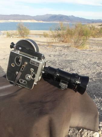 Photo 16mm Bolex Film Cam antique - $425 (boulder city)