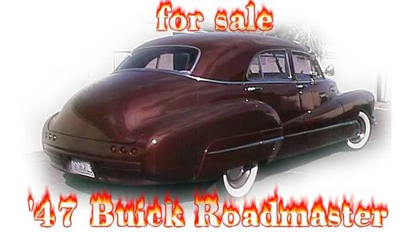 Photo 1947 Buick Roadmaster - will take part trade for bass boat - $13995 (Las Vegas)