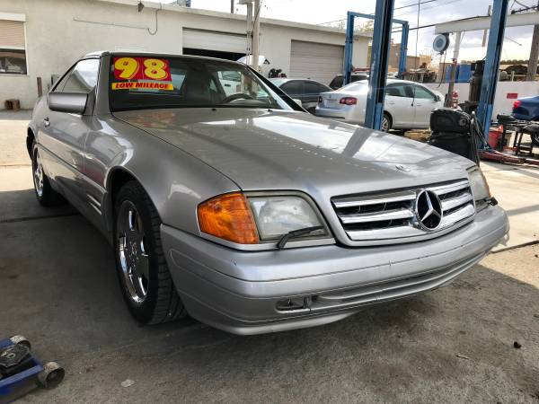 Photo 1998 MERCEDES-BENZ SL 500 V8 ROADSTER GOING OUT FOR BUSINESS $4450 - $4450