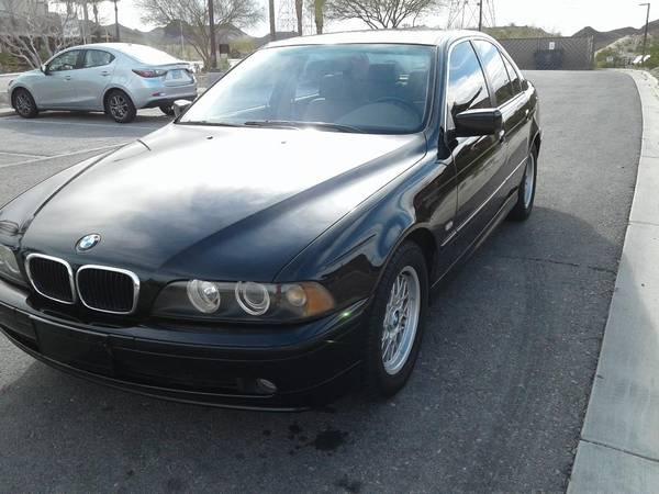Photo 2002 BMW 525i RWD - $5,900 (Henderson)