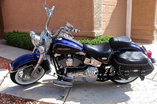 Photo 2003 Harley 100th Anniversary Heritage Classic FLSTCI - $10,900 (Henderson)