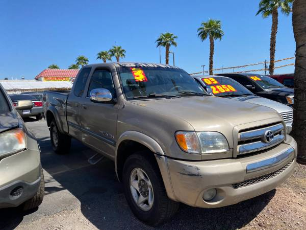 Photo 2003 TOYOTA TUNDRA V8 RUN GREAT VERY STRONG GREAT DEAL $4850 CASH - $4,850 (702-533-9696)