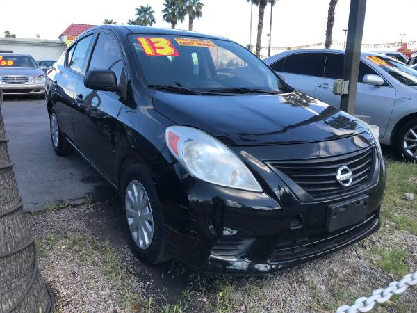 Photo 2013 NISSAN VERSA S PLUS 66K MILES GOING OUT FOR BUSINESS $3995 CASH - $3995