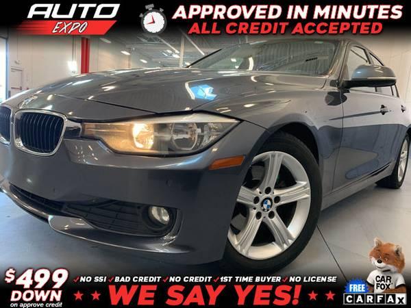 Photo 2015 BMW 3 Series 328i 4dr Sedan SULEV (- as low as $499 Down oac Bad Credit OK)