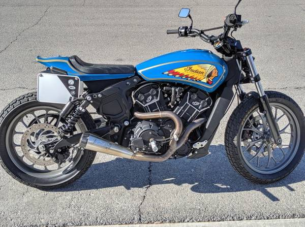 Photo 2017 Indian Scout 60 Flat Tracker - $11,500 (North Las Vegas)