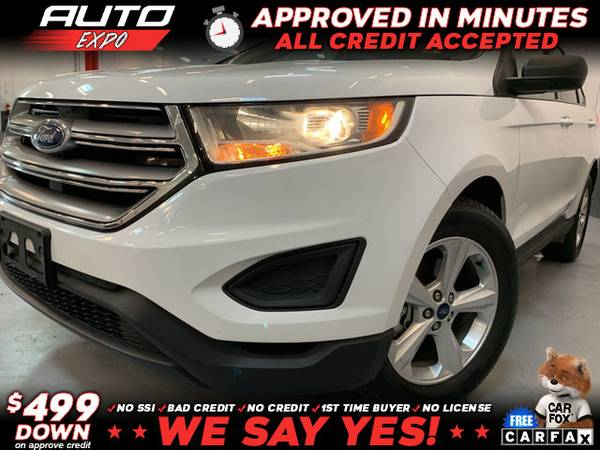 Photo 2018 Ford Edge SE 4dr Crossover (- as low as $499 Down oac Bad Credit OK)