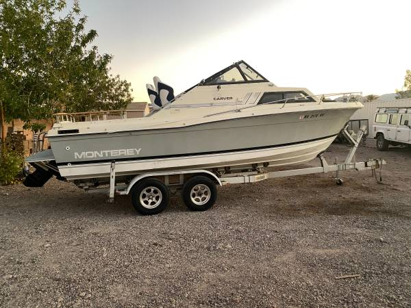 Photo 23 Ft Carver Cabin Cruiser - $6,500 (Henderson)