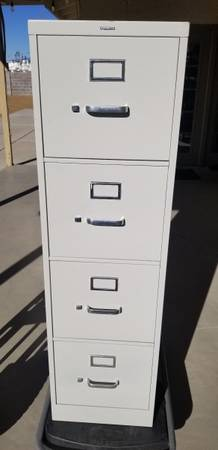 Photo 4 Drawer File Cabinet - $75 (LAS VEGAS)