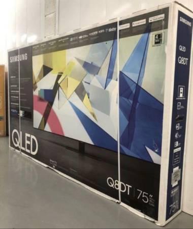 Photo 75Q8DT 75 Samsung smart 4K qled hdr tv - $850 (Las Vegas)