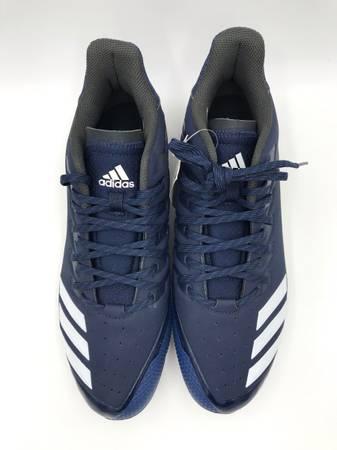 Photo Adidas Mens Icon Bounce Navy Baseball Cleats Size 11.5 NEW - $20 (Las Vegas)