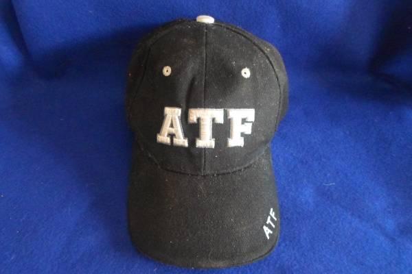 Photo Baseball Hat Cap ATF GUN BLACK  WHITE Color Visor Men Women CHILD KID - $10 (SUMMERLIN)