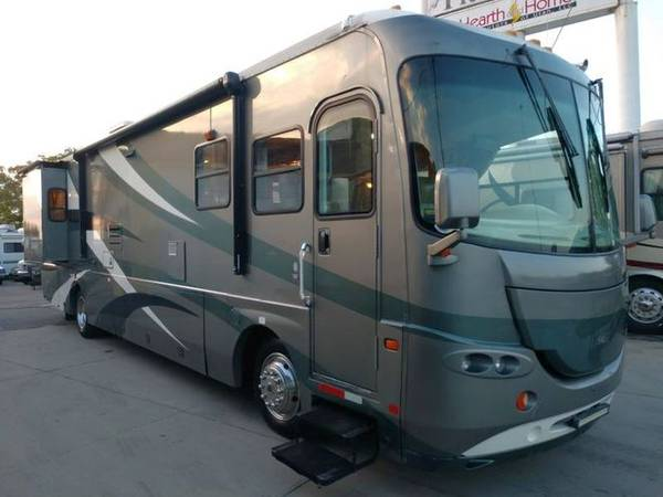 Photo Bath and a 14 2004 Cross Country Class A Diesel Clean Warranty Includ - $39,880 (Salt Lake City)