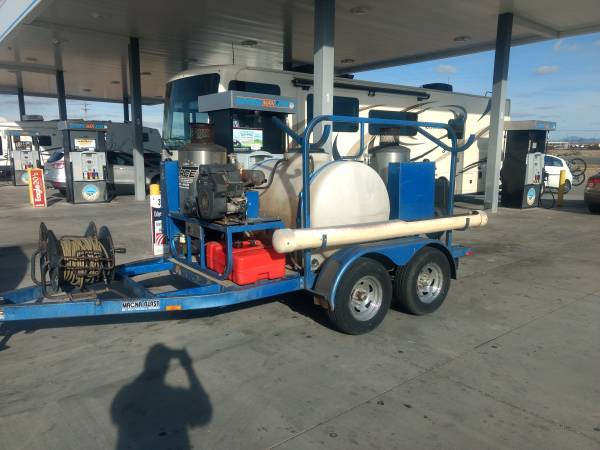 Photo Commercial Hot Pressure Washer - Magna Blast - $8,500 (Parker AZ)
