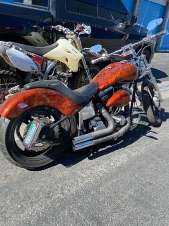 Photo Custom Harley Build Evo - $5,850 (Las Vegas)