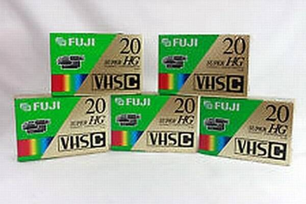 Photo FUJI, JVC, MAXELL, SONY S-VHS-C  Other Tapes, All Brand New Sealed - $5 (Las Vegas)