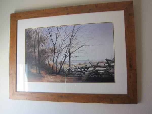 Photo Framed Wall Art - $20 (Boulder City)