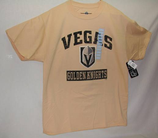 Photo GOLDEN KNIGHTS Tee Shirt, mens size large, NHL licensed, NEW with tags - $12 (tenaya and washington)
