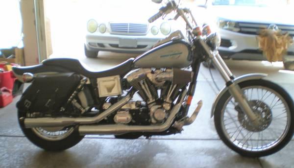 Photo Harley Davidson Wideglide Fxdwg - $6,200 (n.las vegas)