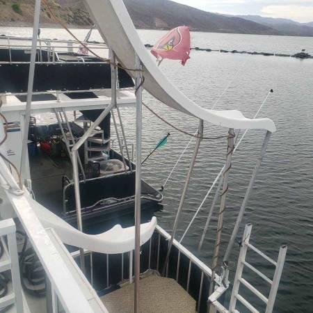 Photo House Boat Heavy duty built aluminum hull 2002 Sun Country - $275,000 (Rosevelt Lake, AZ)