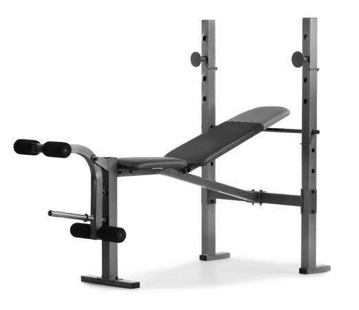 Photo In Box golds gym XR 6.1 workout bench  No weights no bar - $25 (Decatur  Hacienda)