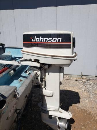 Photo Johnson 25 HP Outboard - $1,200 (Pahrump)