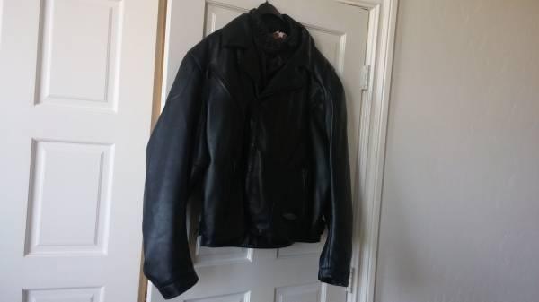 Photo Leather Jacket Harley Davidson FXRG jacket XL  98510- 99VM - $310 (Las Vegas)