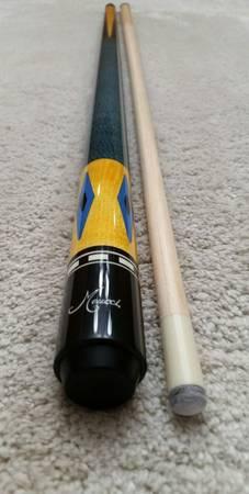 Photo Meucci Pool Cue quotNEWquot EC-8 Blue for Sale - $369 (Henderson)