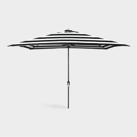 Photo New world market black and white umbrella with used stand - $70 (Near sunset park)
