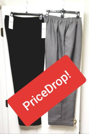 Photo (REDUCED)  NEW WITH TAGS  QUALITY ALFRED DUNNER SLACKS (18W) - $6 (East Las Vegas)